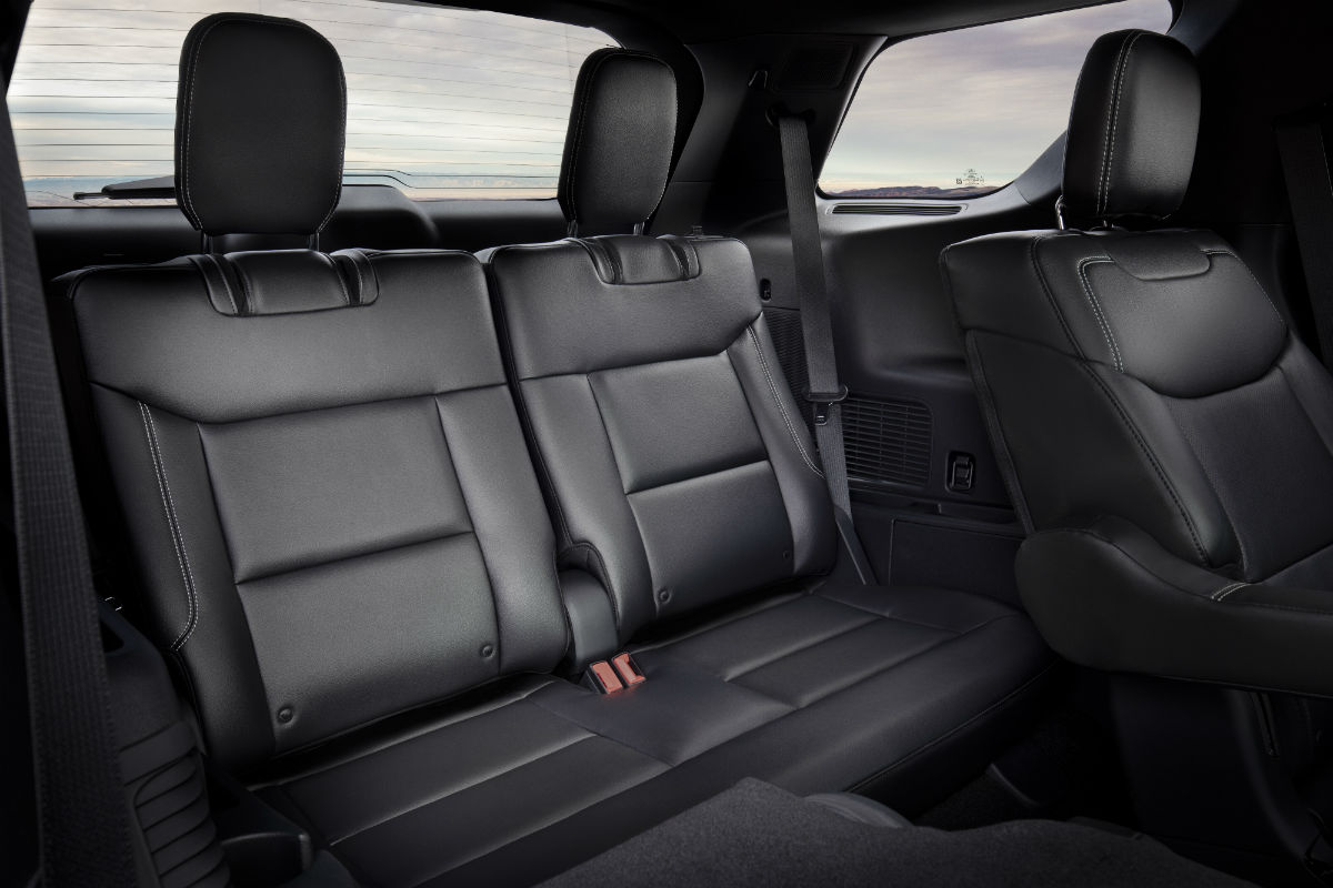 third row passenger space in a 2020 Ford Explorer